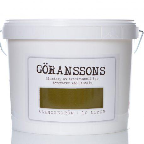 Göranssons slamfärg Allmogegrön