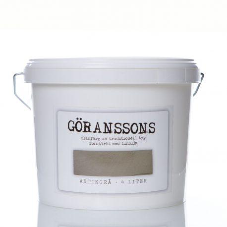 Göranssons antikgrå slamfärg 4 liter