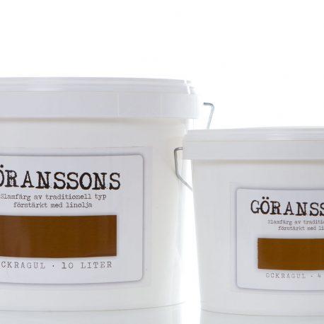 Göranssons slamfärg ockragul
