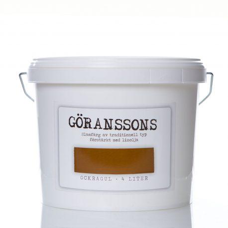 Göranssons slamfärg Ockragul 4 liter