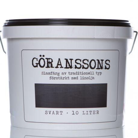 Göranssons slamfärg svart 10 liter